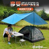 戶外帳篷大天幕 地布野餐墊露營野餐牛津布 遮陽防雨布遮陽棚雨棚igo    西城故事