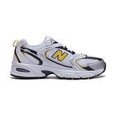 New Balance 530 男鞋 灰白黃 復古 老爹鞋 休閒鞋 MR530UNX