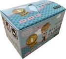 波特平面口罩50入盒(兒童用)水藍