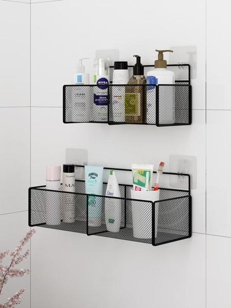 衛生間置物架免打孔浴室掛墻洗手間馬桶壁掛洗澡收納廁所墻上墻壁 南風小鋪