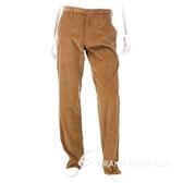 KENZO 絨質休閒長褲(深駝色) 0550149-02