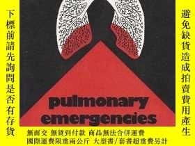 二手書博民逛書店Pulmonary罕見Emergencies-肺部急癥Y361738 John B. Berte ISBN: