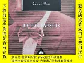 二手書博民逛書店Doctor罕見Faustus 浮士德博士的悲劇 Thomas Mann 托馬斯·曼 everyman s lib