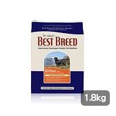 寵物家族-BEST BREED貝斯比 全齡犬無穀水牛肉+蔬果配方1.8kg
