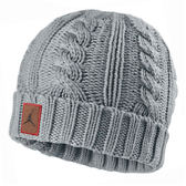 Nike Knitted Beanie [507946-063] 男款 休閒 潮流 舒適 保暖 針織 毛帽 喬丹 灰