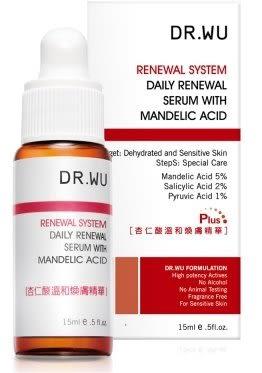 DR.WU 8% 杏仁酸溫和煥膚精華 plus 15ML