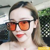歐美新款大框方形墨鏡古眼鏡度假太陽鏡