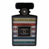 CHANEL 香奈兒 六彩香水造型胸針 D19C Perfume Bottle Pin Brooch【BRAND OFF】