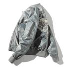 刺繡外套男日系新款潮牌工裝空軍飛行員夾克休閒寬鬆春季棒球服男