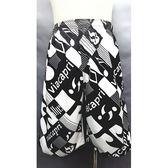 【MIT】台灣製造七分海灘褲● 【123-675-F】抽繩設計●快乾不吸水●車線密【守門員】