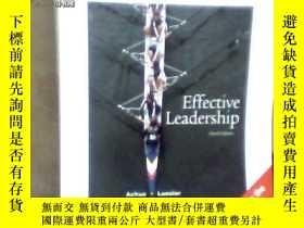 二手書博民逛書店Effective罕見Leadership[Fourth Edition]Y15620 Achua Lussi