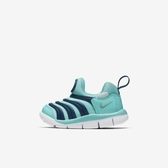 NIKE Dynamo Free TD [343938-310] 小童鞋 慢跑 運動 休閒 舒適 透氣 水藍 深藍