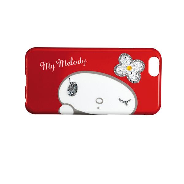 (NG商品-包裝小瑕疵)日本 Suncrest Melody iPhone 6/6s 閃鑽保護殼(俏皮眨眼)
