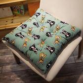 圓形蒲團墊凳子椅子坐墊椅墊加厚四季通用榻榻米沙發辦公室防滑款