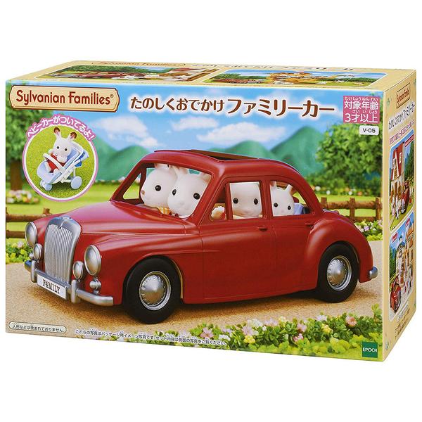 特價 森林家族 紅色家庭車_EP14047