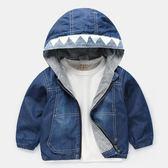 兒童外套 男童牛仔衣外套2018新款秋裝春秋款童裝兒童寶寶小童上衣潮U8017