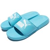Puma 拖鞋 Popcat 粉藍 白 基本款 粉色系 春夏穿搭 男鞋 女鞋【PUMP306】 36026517