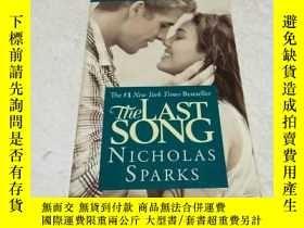 二手書博民逛書店The罕見Last Song by Sparks, Nichol