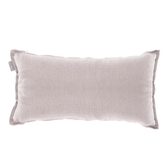 HOLA 素色織紋抱枕30x60cm粉紫色