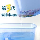 現貨烏龜缸帶曬臺養烏龜專用缸水陸缸巴西龜缸盒箱別墅造景小大型家用 城市科技DF3-8