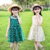 女童夏裝連身裙裙子女寶寶公主裙