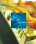 二手書博民逛書店《Calculus: An Applied Approach》