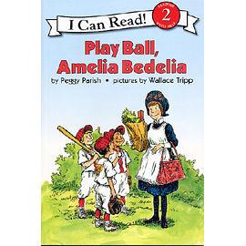 【麥克書店】An I Can Read : PLAY BALL AMELIA BEDELIA / 英文讀本CD / 汪培廷的英文書單
