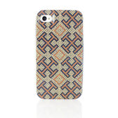 TORY BURCH樂高拼豆十字紋iPhone4/4S手機保護殼(米黃色)151018