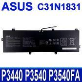 華碩 ASUS C31N1831 3芯 原廠電池 3ICP57081 P3440 P3540 Pro P3540FA