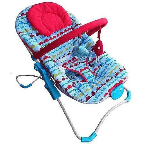 [家事達] Mother's Love 摺疊安撫搖椅-攜帶式搖椅- 藍色~ 特價  可摺疊-好方便~~~