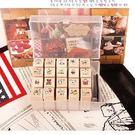 ♥巨安網購♥【BF217E1E820】 小豬印章套裝含印泥(20枚入)