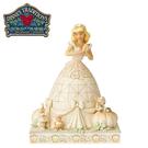 【正版授權】Enesco 灰姑娘 純白王國 塑像 公仔 精品雕塑 仙杜瑞拉 迪士尼 Disney - 144174