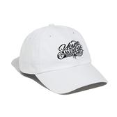 【買一送一】Y.A.S 草寫LOGO棒球老帽-率性白