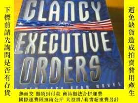 二手書博民逛書店TOM罕見CLANCY EXECUTIUE ORDER(原版英文