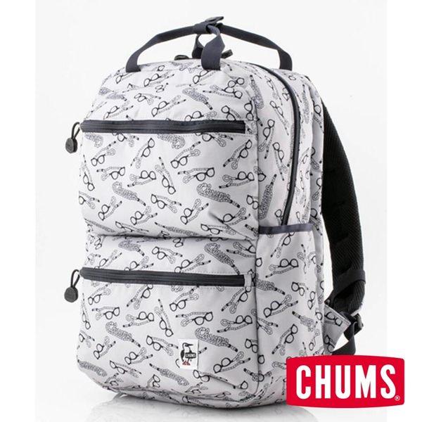 CHUMS Eco Front Pocket 後背包 印花/眼鏡帶圖案 CH602524Z112