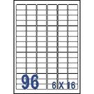 Unistar 裕德3合1電腦標籤紙 (29)US4100 96格 (100張/盒)