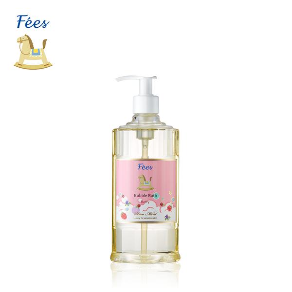 【Fees法緻】嬰兒柔護泡泡露-莓果香300ml / 洗髮沐浴 泡泡浴 泡澡