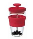 金時代書香咖啡 HARIO 紅色便利手動打果汁器 300ml HDJ-L-R