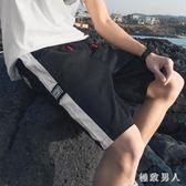 休閒運動短褲男潮夏天季男士五分沙灘寬松褲子 XW1549【極致男人】