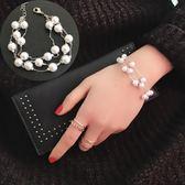 韓版時尚珍珠甜美清新簡約手鍊