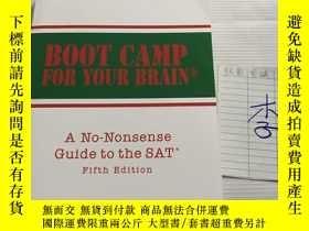 二手書博民逛書店BOOT罕見CAMP FOR YOURY246305 M. DE