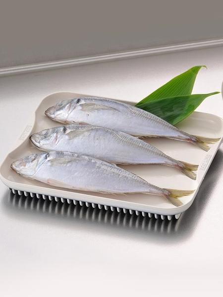 尺寸超過45公分請下宅配日本進口多功能食物保鮮解凍板牛排海鮮急速解凍烤盤鋁合金解凍盤