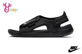 NIKE SUNRAY ADJUST 5 (GS/PS) 中童 涼鞋 運動型防潑水涼鞋 P7080#黑色◆OSOME奧森鞋業