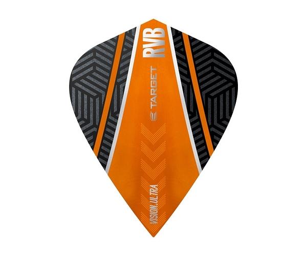 【TARGET】VISION ULTRA KITE RVB Curve Black x Orange 332060 鏢翼 DARTS
