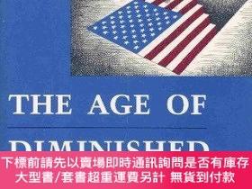 二手書博民逛書店The罕見Age Of Diminished ExpectationsY255174 Paul R. Krug