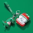 airpods保護套恐龍蘋果無線藍芽耳機套airpods2代保護殼潮ipod可愛airpod充電盒子 台北日光