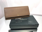 ■現貨在台■專櫃55折■Mulberry Continental Wallet 翻蓋皮革長夾 奶茶色