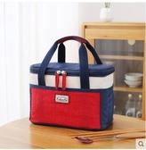 保冷袋 保溫袋鋁箔加厚大號 手提防水保鮮保冷便當包飯盒袋裝飯盒手提袋DF 瑪麗蘇