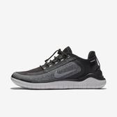 Nike W Free RN 2018 Shield [AJ1978-002] 女鞋 運動 休閒 慢跑 透氣 黑 灰