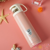 保溫杯大容量水杯兒童不銹鋼杯子便攜可愛簡約水壺【聚可愛】